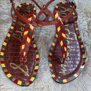 Sam Edelman Shoes - NWOB SAM EDELMAN Gigi Geo Saddle Thong Sandal